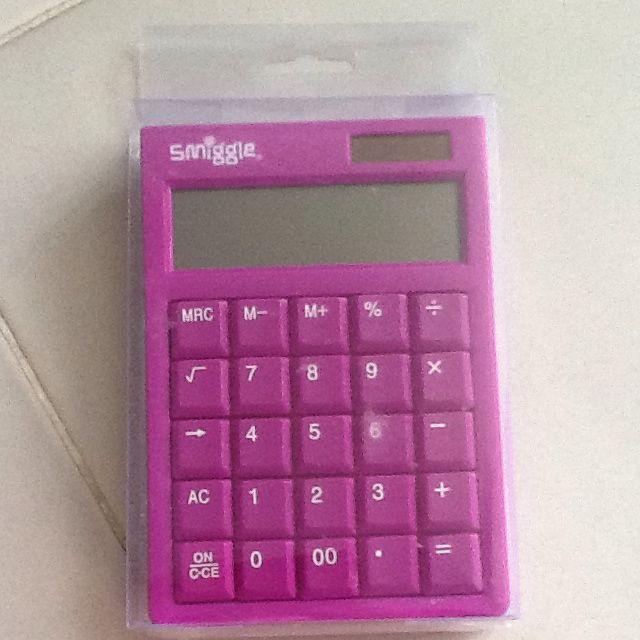 Sniggle purple Calculator BN