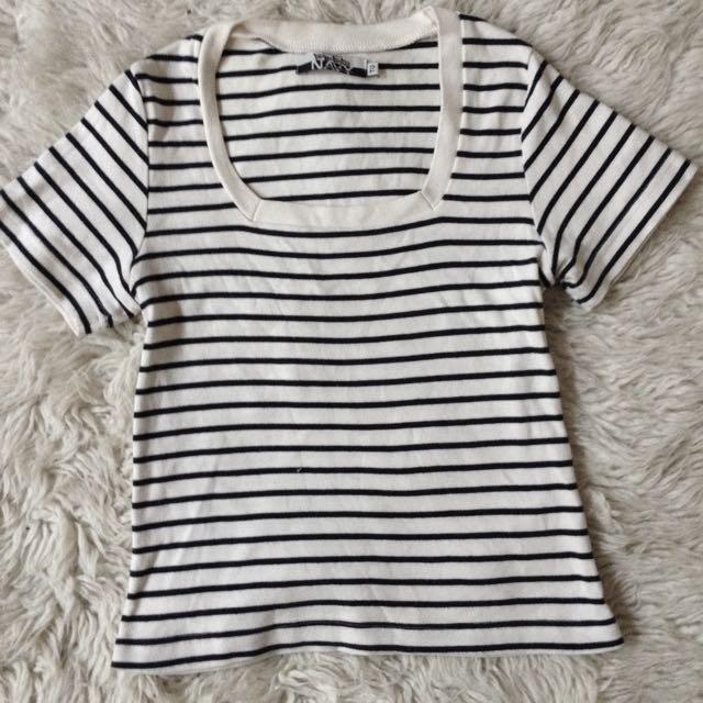Striped t Size 6-8