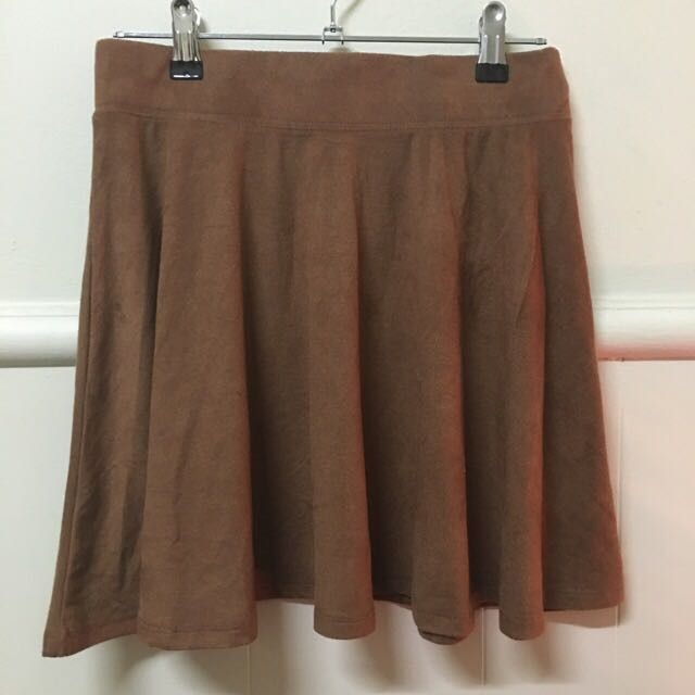 Supre Suede Look Skirt