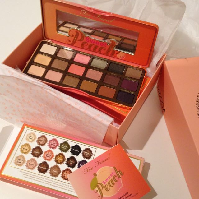 Too Faced Sweet Peach Pallet