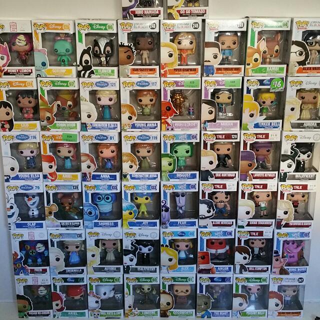 Vinyl Pop Figures