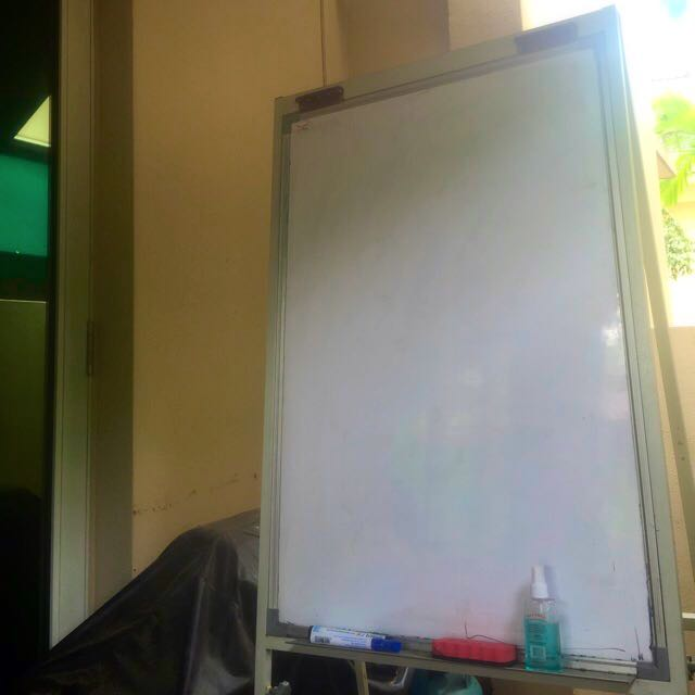 Whiteboard For Office Or Home (folding) - FREE