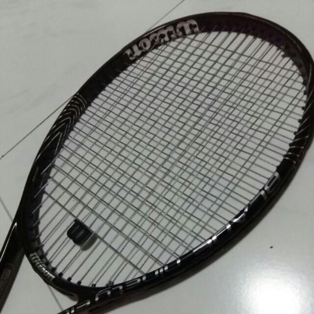 Tennis Racquet Wilson Blade 98 16x19, Sports on Carousell