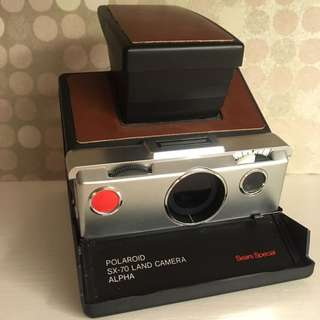 Polaroid SX-70 Land Camera Alpha (SEARS SPECIAL EDITION)