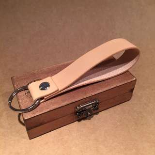 皮革鑰匙圈 手工訂製 客製化 打字