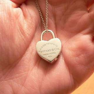 Fast Deal $60. Authentic Tiffany And Co Heart Lock Necklace