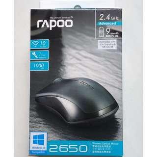 Rapoo 1000dpi Wireless Optical Mouse 2650