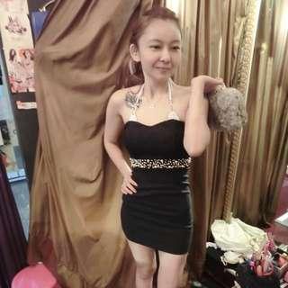 💋平口修身洋裝💋