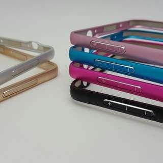 SAMSUNG NOTE3 鋁合金抗刮烤漆邊框 粉色/金色
