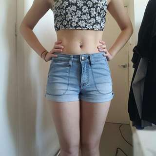 Nude Lucy Denim Shorts