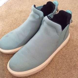 Zara Blue Shoes