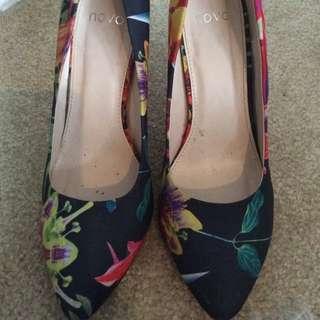 Novo Floral Heels