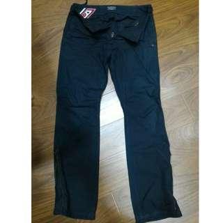 NT$380含運【二手】POLO JEANS CO., 百貨專櫃正品 美版 深藍色休閒個性長褲 29吋 8成新 便宜賣