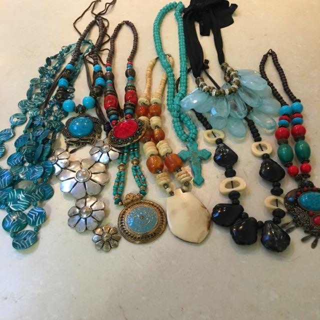 10 Necklaces