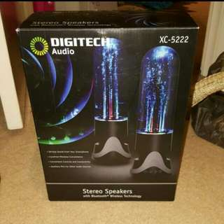 Digitech Bluetooth Stereo Speakers With Water Jets