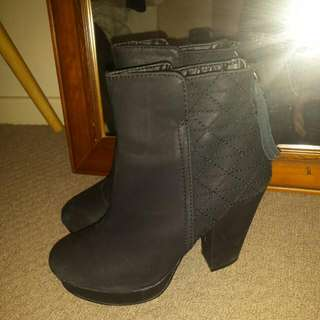 Size 9 Black Boots