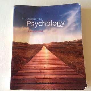 Introduction To Psychology By James Kalat