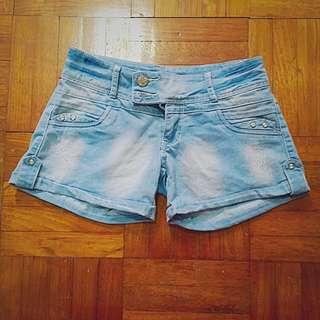 White-Washed Shorts