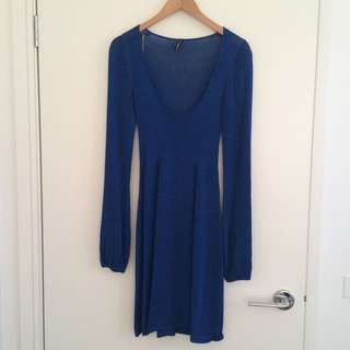 Grab Knit Dress