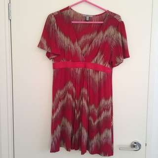 MNG Short Sleeve Dress