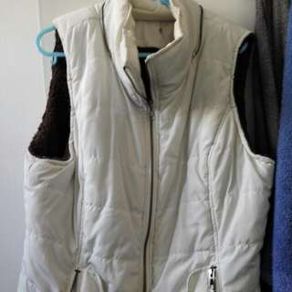 Puffer Quilted Warm Vest Jacket
