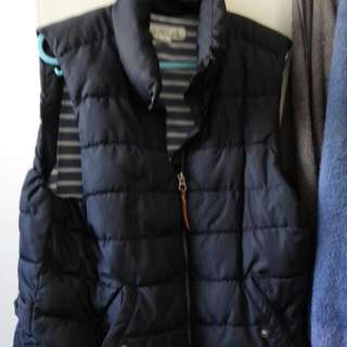 Puffer Dark Navy Vest Jacket