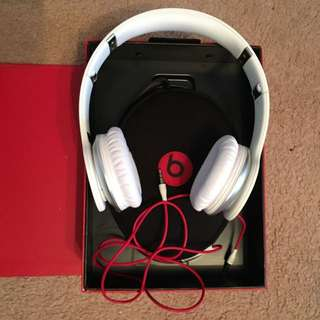 Monster Beats Solo (White)