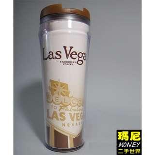 2004星巴克城市隨行杯12oz -拉斯維加斯 Las Vegas款-二手-#運費我來出
