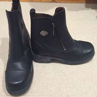 Harley Davidson Leather Boots US 9.5