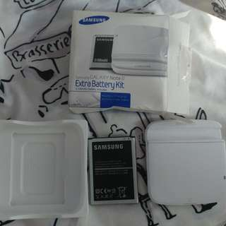 Used Samsung Note 2 Extra Battery Kit