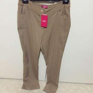 Camel Size 10 Vintage Bootleg Pants