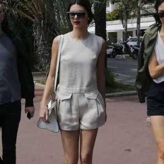 NEW Genuine Longchamp Linen Shorts