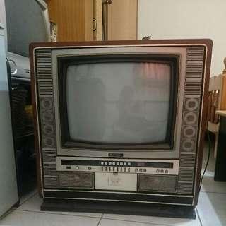 日立老電視