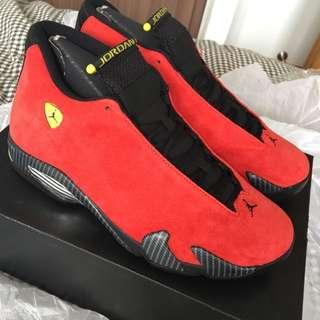 AJ14 Air Jordan 14 Ferrari (Fast Deal)