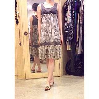 溫慶珠 設計師 拼接 舒適 洋裝
