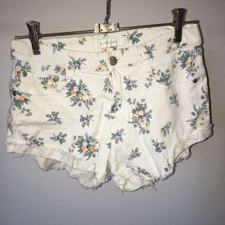 Mink Pink Floral Shorts
