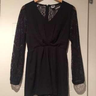 Lace Playsuit Size 8