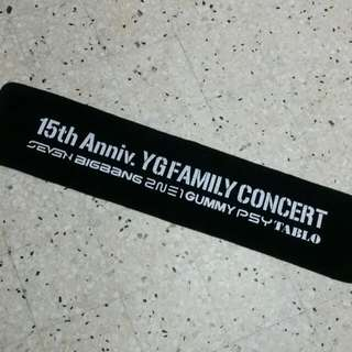 YG Family Slogan Towel.