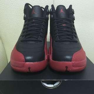 Air Jordan 12 Flu Game 黑紅