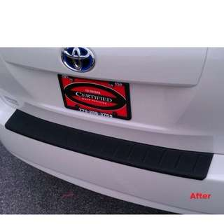 Toyota Prius Rear Bumper protector/ guard ( For year 2009-2015 model)