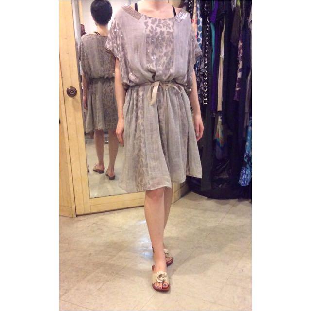 降價!溫慶珠 設計師 華麗 特色 洋裝