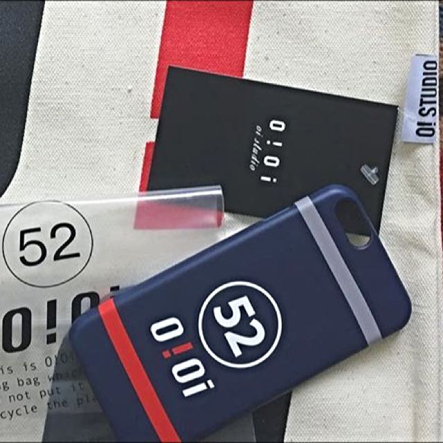韓國 品牌 oioi 手機殼 藍色 6s  Iphone6