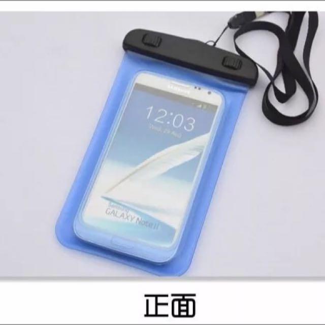 夏天玩水 iPhone 6s手機通用防水手機袋