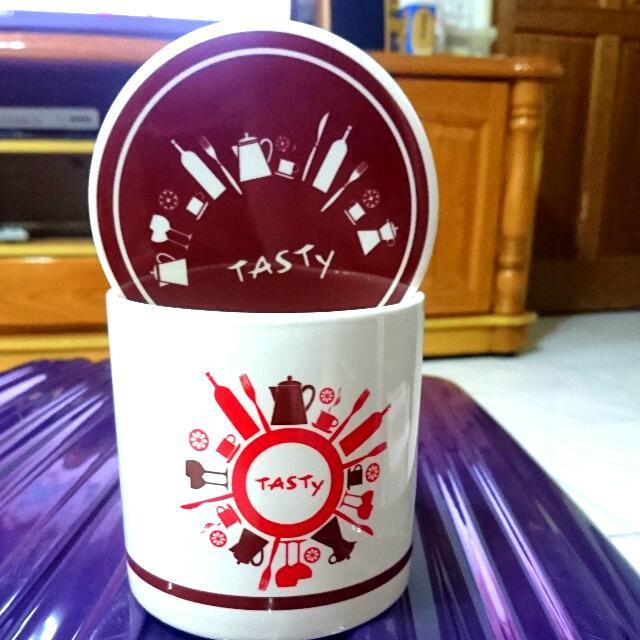 全新 TASTY西提玻璃罐 香頌罐