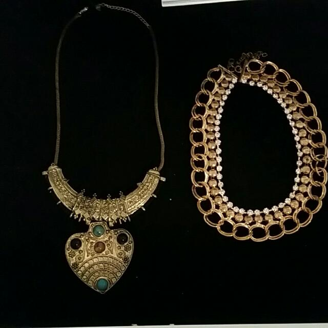 A Range Of Necklaces