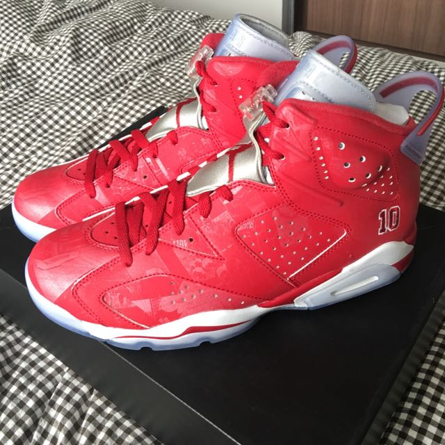 purchase cheap 40bcc 75d33 AJ6 Air Jordan 6 Slam Dunk, Sports on Carousell