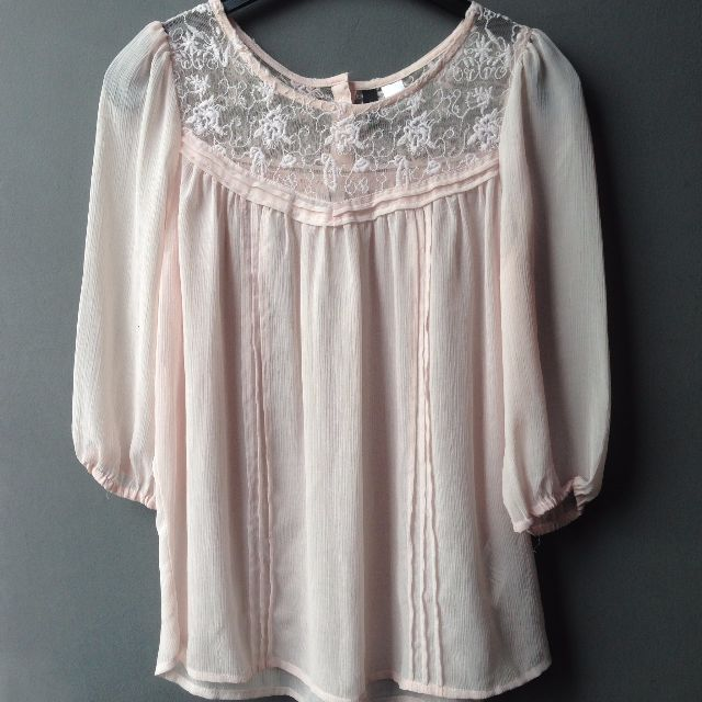 Blues Lace Pink
