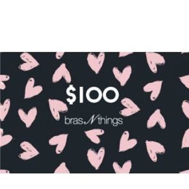Bras And Things Gift Voucher $100