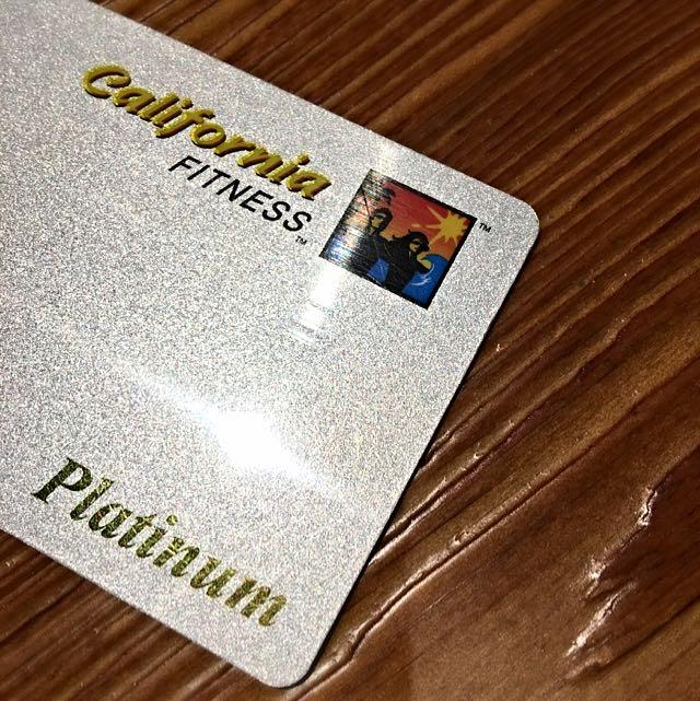 California Fitness Platinum Membership *reserved*