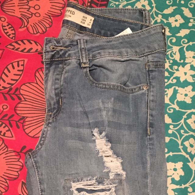 Cotton On Cropped Jeans